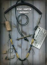 New ListingFly Fishing Lanyard-Usa Handcrafted w/Tippet Holder,Buffalo Horn & Natural Beads