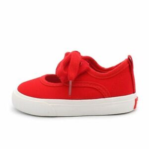 Casual Styles Hook And Loop Closure Shoes For Toddlers Butterfly-knot Solid Shoe