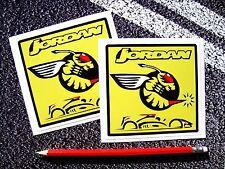 Jordan F1 Stickers Buzzin Hornets Damon Hill Eddie Jordan Le Mans Grand Prix V8
