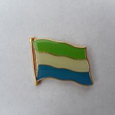 Sierra Leone Flaggenpin,Flag,Pin,Badge,Label