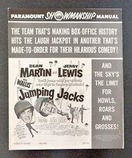Paramount Showmanship Pressbook JUMPING JACKS Dean Martin Jerry Lewis Movie 1952