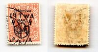 Central Lithuania 1920 SC 14 used. rtb6371