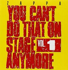 Frank Zappa - You Cant Do That On Stage Anymore Vol 1 [CD]