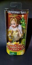 "*NEW* Barbie Kelly Doll ""A Christmas Carol""  Gold CHRISTMAS SPIRIT"