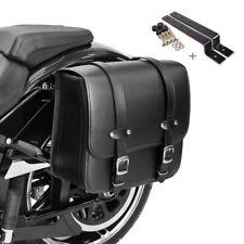 Satteltasche + Halter für Harley Davidson Softail Low Rider / S Reno
