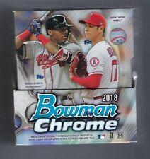 2018 Bowman Chrome Baseball Cards Hobby Master Box Factory Sealed