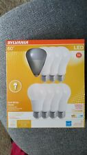 8 Pack SYLVANIA DIMMABLE LED 60W Bulb A19 Soft White 800 lumens