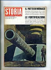 STORIA ILLUSTRATA#SETTEMBRE 1968 N.130#PATTO DI MONACO#FORTIFICAZIONI#Mondadori