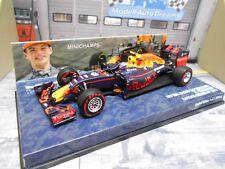 F1 red bull rb12 renault Heuer #33 verstappen Alemania 2016 Minichamps 1:43