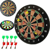 "18"" Magnetic Kids Play Dart Board Dartboard With 6 Darts Party Game Toy SI-MDB18"