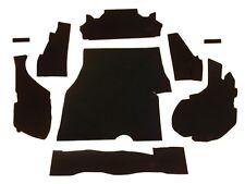 1981-1988 CHEVY MONTE CARLO,TRUNK DRESS UP KIT, BLACK CARPET, 9 PIECES