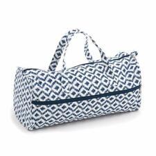 HobbyGift Knitting Bag Craft bag Sewing Yarn Storage - Scribble Diamond Design