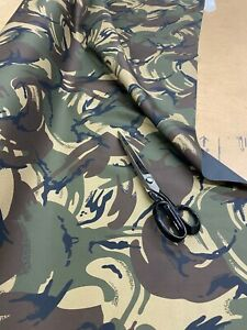 ARMY CAMOUFLAGE Heavy Duty Thick Waterproof Fabric Outdoor Cover Sold By Metre