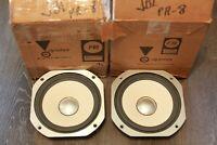 Vintage JBL PR-8 Passive Radiators Pair - Excellent Condition w/ Boxes- Refoamed