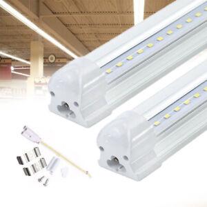 LED Leuchtstoffröhre Röhre 120cm Komplett Set mit Fassung T8 LED Röhre Warmweiß