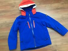 Boys AUTHENTIC Blue ARMANI EA7 THERMAL COAT (age7-8) *NICE COND* Cost £200