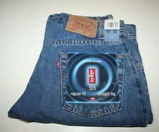 Levi's Mens Regular Fit 505 Denim Jeans, Straight Leg, Med Blue, W31-L34