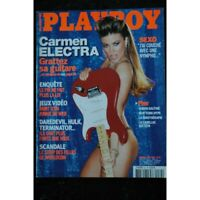 PLAYBOY 034 AVRIL 2003 COVER CARMEN ELECTRA INTERVIEW FABIEN GALTHIE CHARIS BOYL