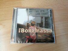 Joe Bonamassa - So, It's Like That - CD (2005) *NEW SEALED* Blues