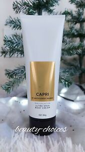 BATH & BODY WORKS CAPRI MENS BODY CREAM MOISTURIZING ULTRA SHEA 8 FL.OZ NEW