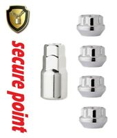 Locking Wheel Nuts Fits Ford Fiesta Mk5 Mk6 Mk7 Mk8 Fusion ALL MODELS M12 x1.5mm