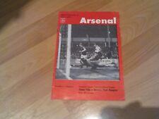 aston villa v Q.P.R. league cup semi final played at arsenal  1976/77