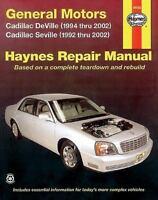 Haynes Repair Manual 38032: General Motors Cadillac Deville (1994 Thru 2002)