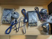 PowerBass Autosound L2 Series Aluminum Tweeters With Crossovers And Wiring, New!
