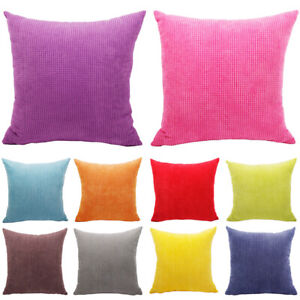 Kissenbezüge Büro Bett Auto Home Weiche Kissenbezug Cord SofaKissen Dekoration