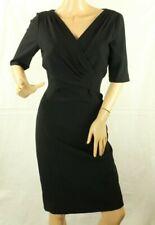 2e092a5617cc Vestidos de mujer rectos negros de crepé   Compra online en eBay