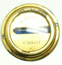 Clockmakers Spares Barometer Parts - Warranted Correct Balance Bubble - Dial