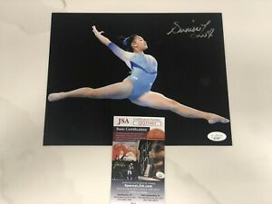 Sunisa Lee Hand Signed 8x10 Photo Tokyo 2021 Olympics Gymnastics Gold USA JSA 4