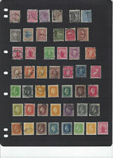 NEW ZEALAND-SELECTION-OLDER-ALSO KINGS-F-VF-MANY BETTER-MINT-USED-