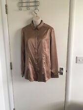 BNWT LADIES BURBERRY LONDON SATIN SHIRT / BLOUSE SIZE 12