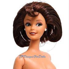 Macys Limited Edition Muñeca Barbie City Shopper Morena nuevo fuera de caja