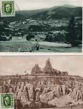 More details for 6 czechoslovakia postcards stamp postmark interest ? af642