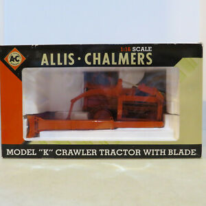 SpecCast Allis Chalmers K Crawler w/ Bucyrus-Erie Blade AC-SCT211-B