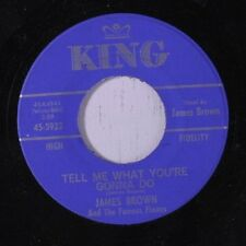 """JAMES BROWN: Tell Me What You're Gonna Do / I Don't Care 45  Soul-7""""and Single G"""