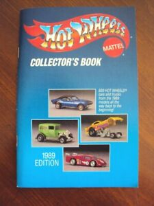 Hot Wheels Collector's Book 1989 Edition
