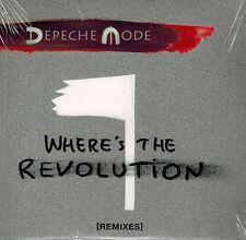 MUSIK-SINGLE-CD NEU/OVP - Depeche Mode - Where's The Revolution
