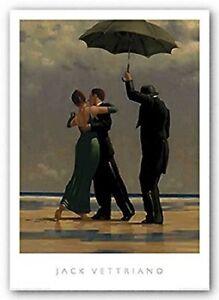 Jack Vettriano - Dancer in Emerald - premium open edition print (40x50)
