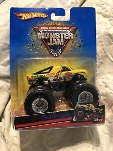 Hot Wheels Monster Jam Suzuki Rare Truck 1:64
