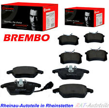 BREMBO  Brembeläge KIT SET Vorne+Hinten für 312mm 253mm B.S. AUDI VW SEAT SKODA