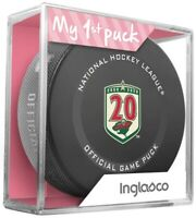 Minnesota Wild 20th Anniversary 2021 Official Game Hockey Puck In Cube - New Fan