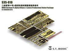 ET Model S35010 1/35 Pz.Kpfw.IV Ausf.J Late Detail Up Value Set for Dragon 6575