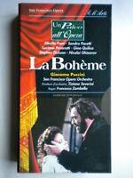 VHS Boheme Puccini palco opera Severini san francisco Zambello  Freni no DVD