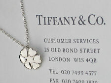 Tiffany & Co Paloma Picasso Crown of Hearts Sterling Silver Pendant Necklace