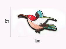 Hot Good Quality Embroidered Applique Iron On Sew On Patch Bird