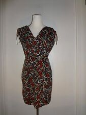 Cynthia Steffe Seamline Size 4 Floral Print Multi-Color Sleeveless Dress