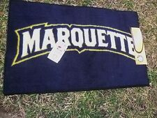 New LICENSED Marquette University Welcome Mat 30 x 18 See pics for more details!